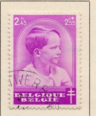 Belgium 1937 Early Issue Fine Used 2F.45c. 124692