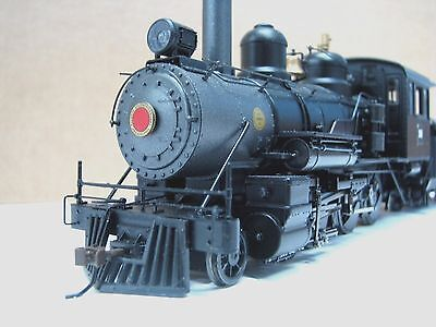 Bachmann ON 30 Baldwin 4-6-0 DC/DCC/Sound Unlettered Steel Cab