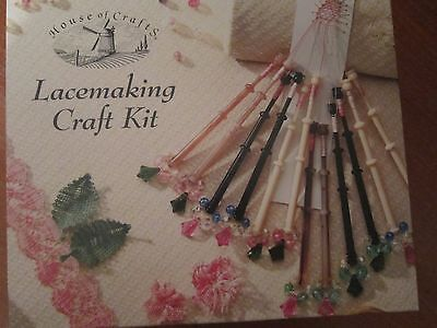 Lacemaking Craft Kit. House of Crafts.