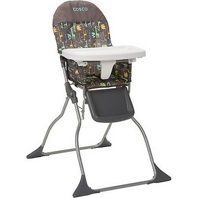 Cosco Simple Fold High Chair Zury Feeding Booster Toddler Infant Seat Folding