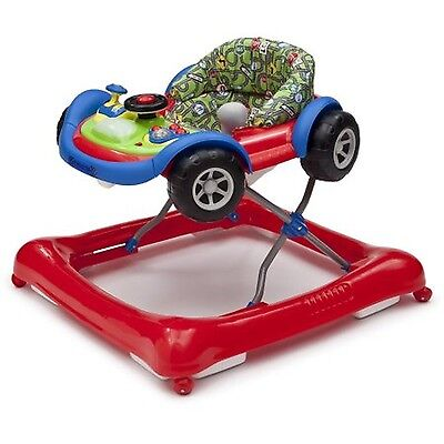 Delta Children Lil' Drive Baby Activity Walker Red Car Toddler Toy Seat Toys
