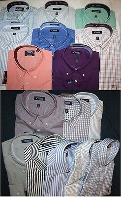 Chaps Classic Fit Wrinkle Free Men's Shirts NWT Assrtd Sizes, Colors & Patterns
