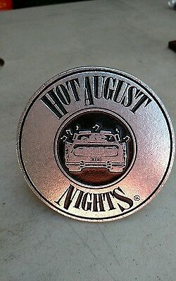 Hot August Nights Metal Trailer Hitch Cover