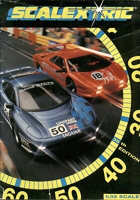 Scalextric Electric Slot Car Racing 35Th Edition (1994) Product Range Catalogue