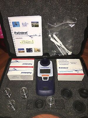 PALINTEST 3 Swimming pool Spa testing water analysis kit in box. Mint cond