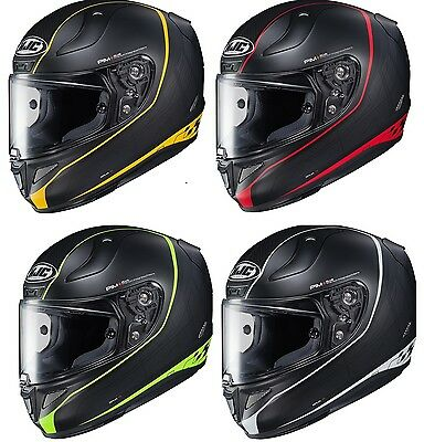 HJC RPHA-11 Pro Riberte Red, Yellow, Green, White Full Face Motorcycle Helmet