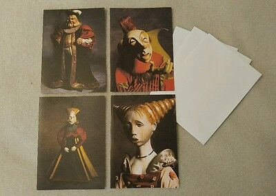 Julie Taymor FOOL'S FIRE Greeting Card Set - Wexner Center 2000 Rare/Cool Design