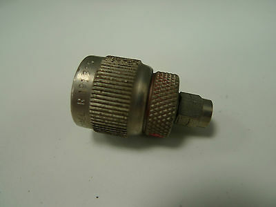 Connector N type SMA Radiall Male Femal R191