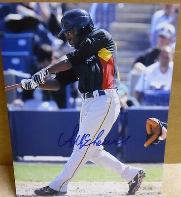 2007 Andrew Mccutchen Autographed 8X10 Limited Edition 31/100 Rare Early Auto