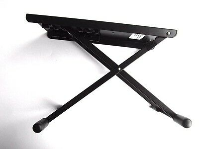 premium Footrest for Gitarristen K&M - adjustable height black Footrest