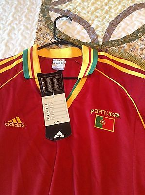 Portugal World Cup Woman's supporter soccer jersey NWT  X-large,made by Adidas
