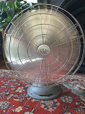 Vintage Limit Electrical Working Desk Fan Made In England Antique