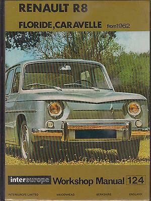 Renault Floride S & Caravelle Coupe Convertible 1961-1967 Owners Workshop Manual
