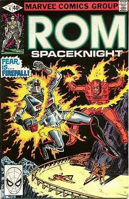Rom #4 in Very Fine condition. FREE bag/board