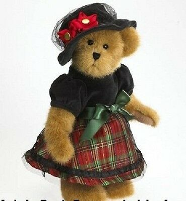 """Boyds Bears Margaret Tartenbeary 12"""" Limited Edition NEW! RARE RETIRED FREE SHIP"""