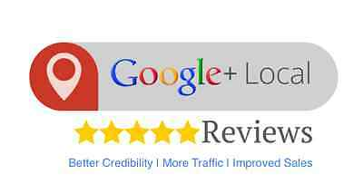 Get 5 Stars Google+ Reviews - 100% Natural - Drive Website Traffic - SEO Service