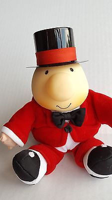 Ziggy Plush in Red Suit w/Top Hat Bow Tie Tom Wilson 1995 Stuffed Toy Doll