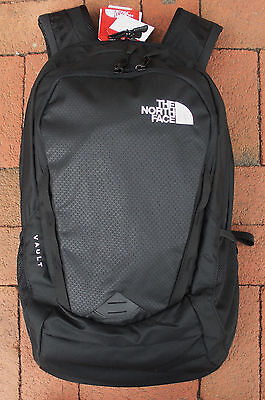 The North Face Vault Backpack -Daypack- Laptop Sleeve-#chj0- Tnf Black -New