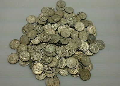 $50 face value WASHINGTON SILVER QUARTERS 90% 200 COIN LOT