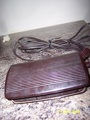 Singer Sewing Machine Electric Foot Control Pedal w/ Cord No 619494-001 Vintage