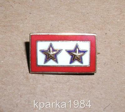 Ww2 Era Two Gold Star (Kia) Two Sons Killed In Service Pin - Imperial - 10K Top