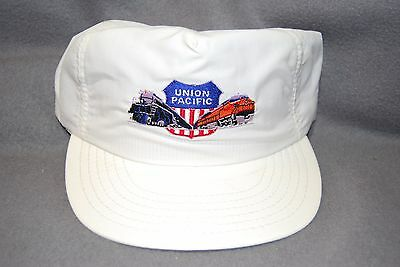 Union Pacific Railroad, Steam locomotive and Diesel With UP Shield, Ball Cap/Hat