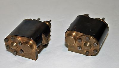 "Live Steam train Gauge 1 or 1/2"" scale 2 1/2"" gauge Brass Steam Chest Cylinders"