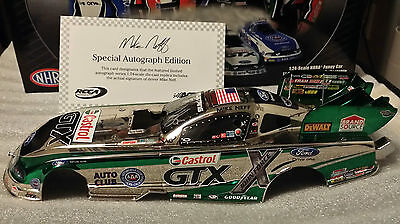 Mike Neff 2011 Castrol GTX Mustang 1 of 150 SIGNED Color Chrome