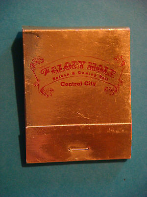 Matches Matchbook ~ GLORY HOLE Casino, Gaming ~ Central City, COLORADO ** CLOSED