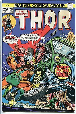The Mighty Thor #237 Night Of The Troll  Marvel 1975 Vf+