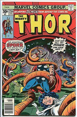 The Mighty Thor #256  Marvel 1976 Vf+