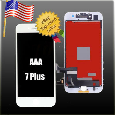 White LCD Display+Touch Screen Digitizer Assembly for iPhone 7 Plus 5.5'' OEM