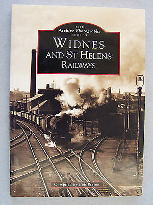 """widnes And St Helens Railways."" Locomotives Trains Book."
