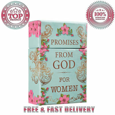 Promises From God for Women Cards A Box of Blessings Hardcover Message For Women