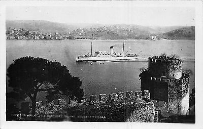 POSTCARD    TURKEY     CONSTANTINOPLE    The  Harbour