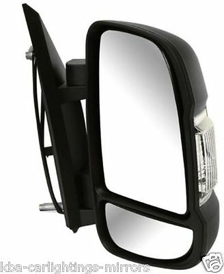 Door Wing Mirror Electric Heated Long Arm Right O//S Fiat Ducato 1999-2005 New