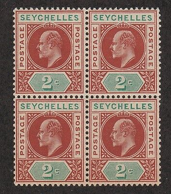 Kappysstamps Id7554 Seychelles #38 Mint Bk/4 Nh Never Hinged Block