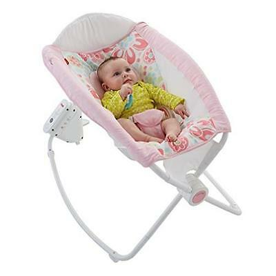 Fisher-Price Newborn Auto Rock N Play Sleeper Floral Confetti MYTODDLER