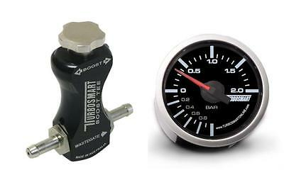 Turbosmart Black Manual Boost Controller and Turbosmart 52mm Boost Gauge BAR