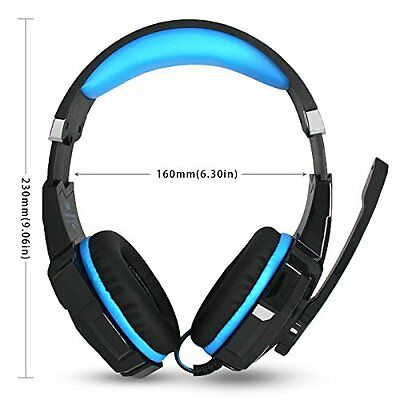 *kotion Each G9000 Usb 7 1 Surround Sound Cuffie Gaming Headset Con Mic Luce ...