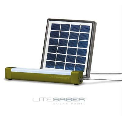 Saber LITESABER Carp Fishing Bivvy Light With Power Pack + Saber Solar Panel