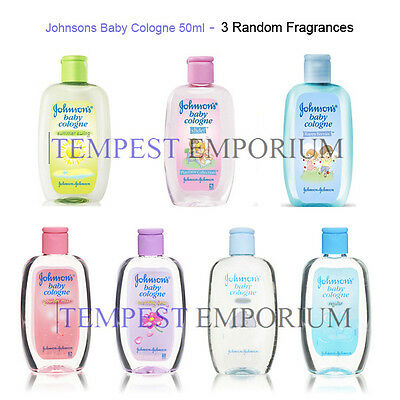Johnsons Baby Cologne Selection 50ml Random Selection of 3 Fragrances