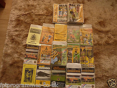 //Southport Home Programmes 1979/80 to 2007/08