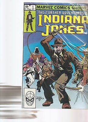 the further aventures of indiana jones lot #1,2,7,9,24,28  1982   FREE SHIPPING