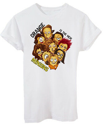 T-Shirt ORANGE IS THE NEW BLACK MINION-SERIE TV - by iMage