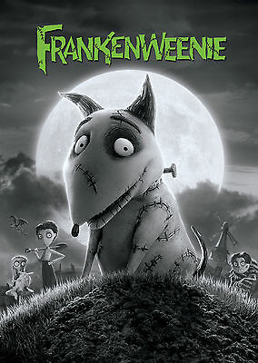 Frankenweenie (2012) V2 - A1/A2 POSTER **BUY ANY 2 AND GET 1 FREE OFFER**