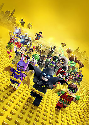 Lego Batman (2017) - A1/A2 POSTER **BUY ANY 2 AND GET 1 FREE OFFER**