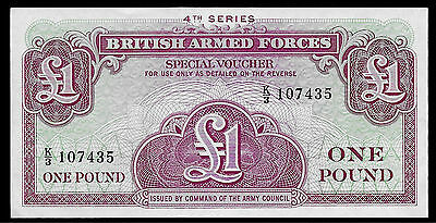 World Paper Money - British Armed Forces 1 Pound 4th Series @ Crisp AU
