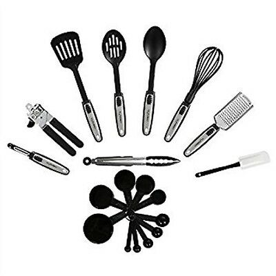 Premium 19-Piece Kitchen Utensils Sets Stainless Steel And Nylon Cooking Tools