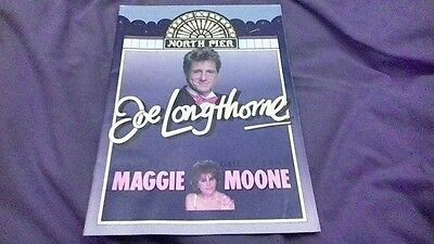 1989 Joe Longthorne with Maggie Moone Programme North Pier Blackpool